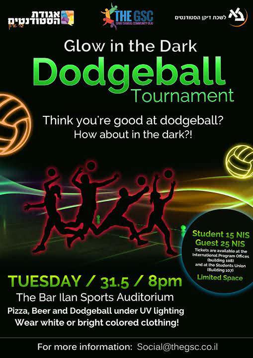 Glow in the Dark Dodgeball 1