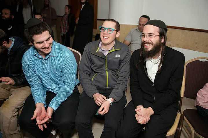 Rav Dovid'l at Beiteinu_Purim 1