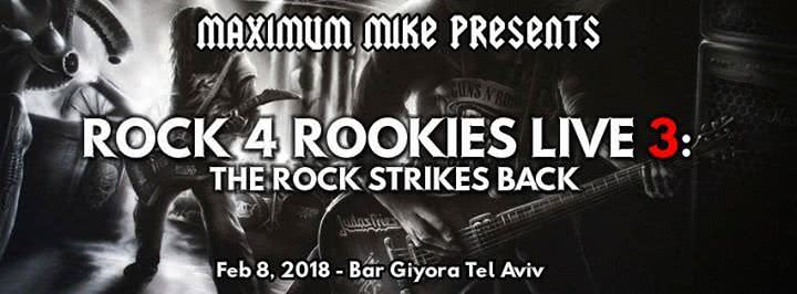 Rock 4 Rookies Live 3: The Rock Strikes Back 1