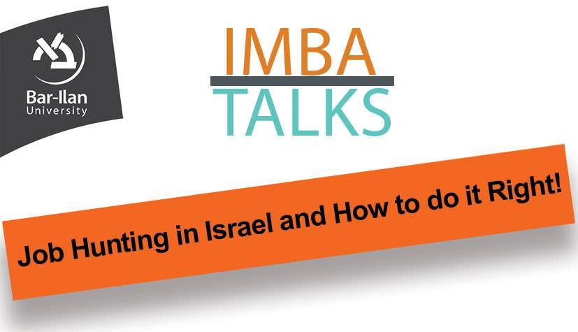 Job Hunting in Israel