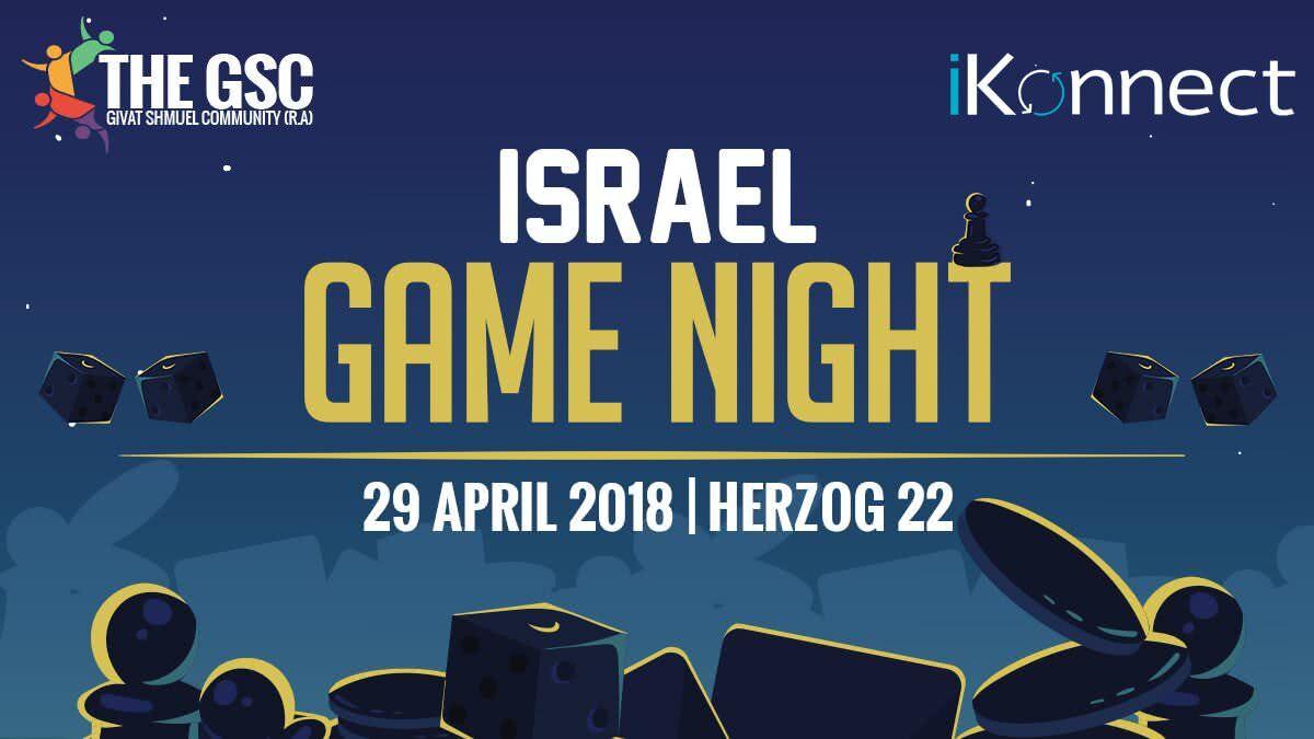 Israel Game Night 1