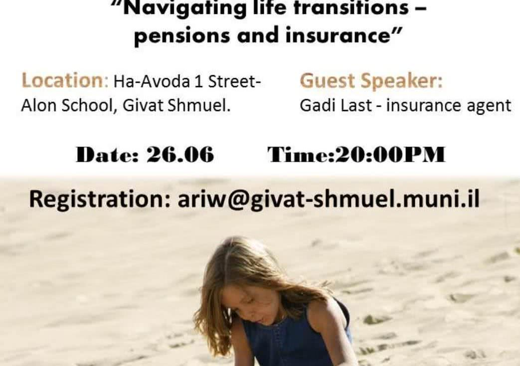 Workshop: Navigating Life Transitions - Pensions & Insurance 1