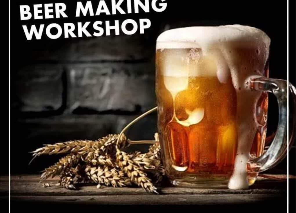 Beer Making Workshop in Givat Shmuel