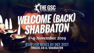 Welcome Back Shabbaton 2019