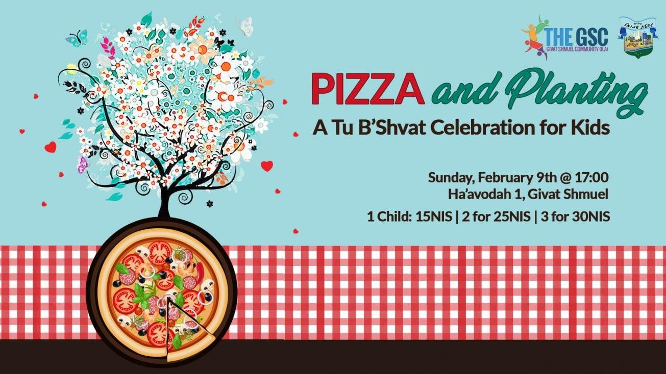Pizza & Planting: A Tu B'Shvat Celebration For Kids 1